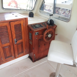 MENORQUIN 40LLaut Cabin + SOLé Diesel+vlek na 3,5T